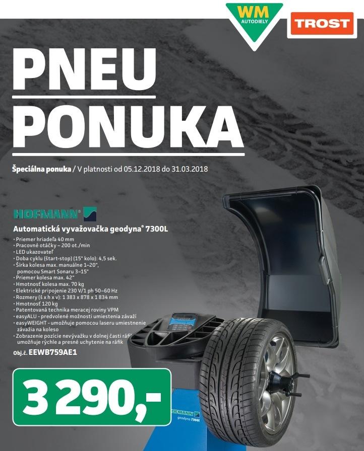 Špeciálna pneu ponuka v TROSTe