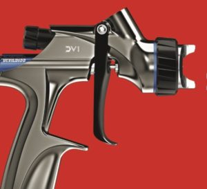 Nová striekacie pištole DeVilbiss DV1 u Interaction