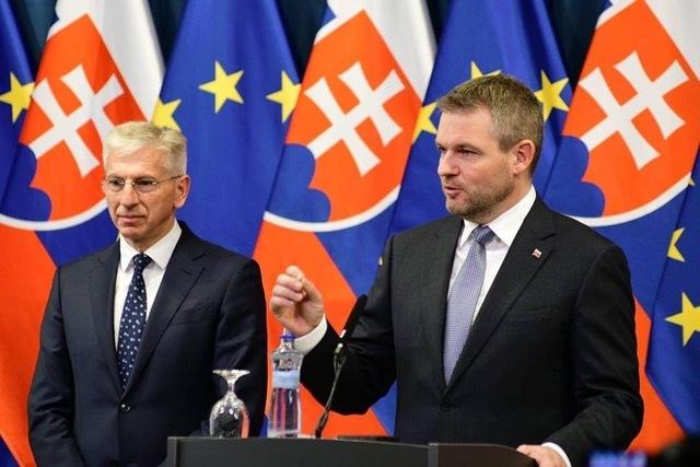 Alexander Matušek a Peter Pellegrini