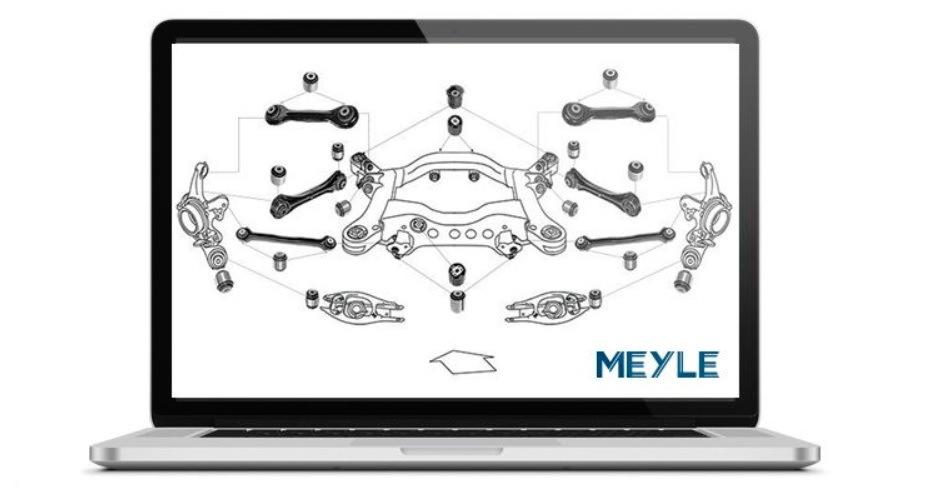 Meyle uľahčuje identifikáciu dielov pre servisy