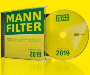Nový katalóg MANN-FILTER dostupný na DVD