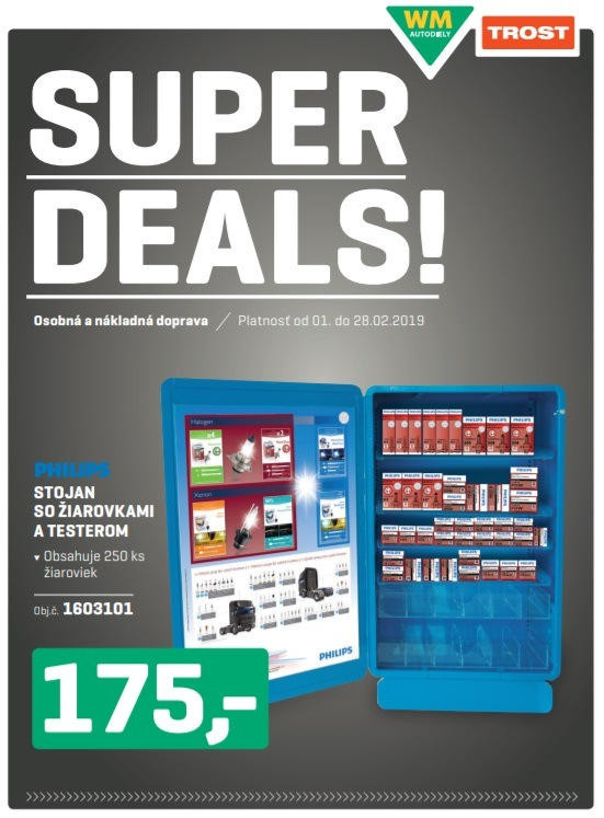 Trost - Super deals fenruár 2019