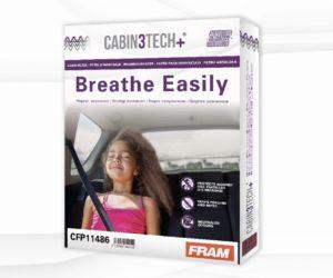 Nové kabínové filtre Cabin3Tech+ od Sogefi