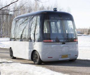 Celosvetovo prvý autonómny autobus do každého počasia jazdí na pneumatikách Nokian Hakkapeliitta