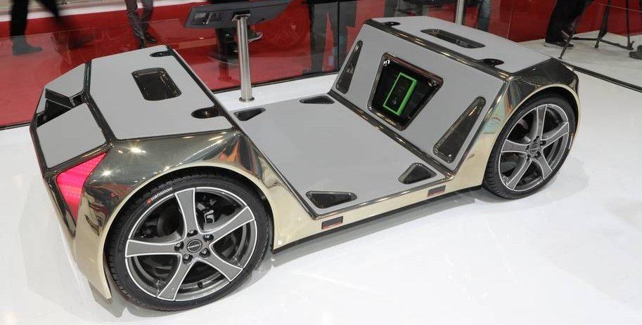 Pneumatiky Hankook Tire pro mikroauto Rinspeed