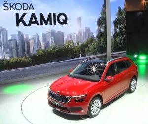 Živý prenos predstavenia Škody SUV Kamiq v Ženeve