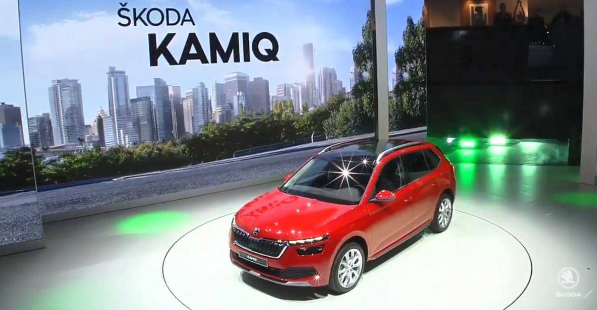 Škoda Kamiq v Ženevě