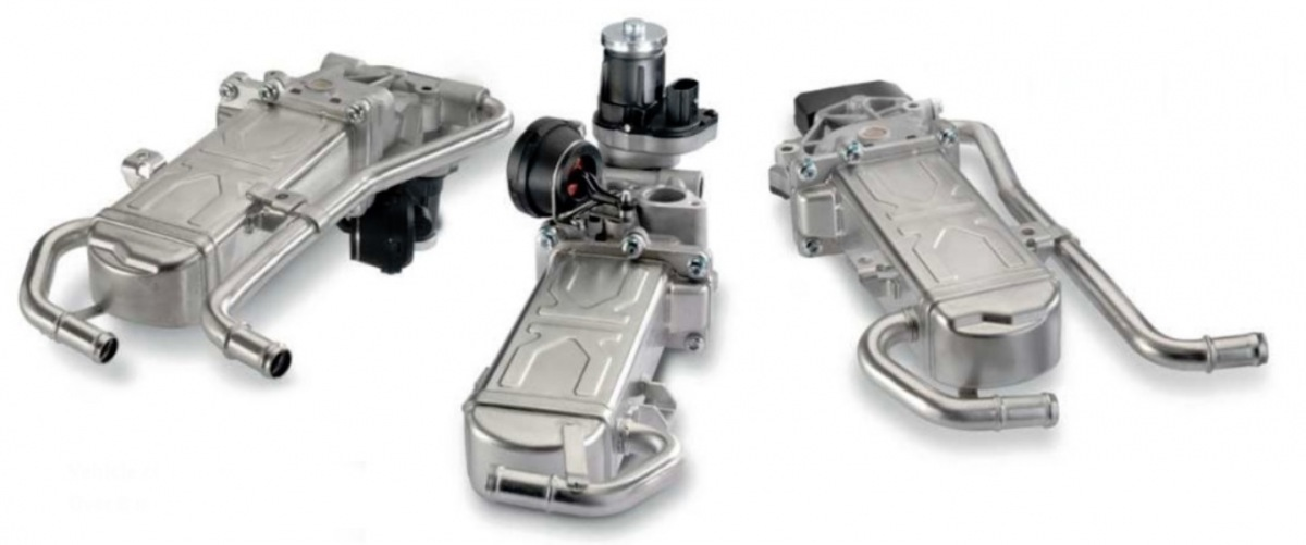 Tri nové AGR chladiče Pierburg u KS Motor