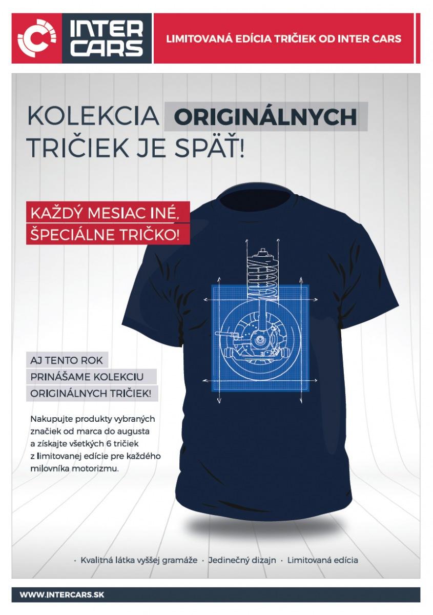 Kolekcia originálnych tričiek od Inter Cars