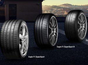 PneumatikyEagle F1 SuperSport spoločnosti Goodyear