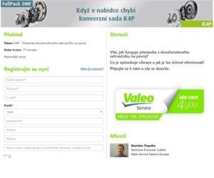 Online školenie Valeo zdarma