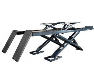 Novinka u ATH-Heinl: nožnicový plošinový zdvihák ATH-Cross Lift 50