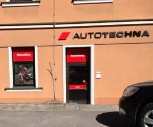 Predajňa Autotechna Bánská Štiavnica v nových priestoroch