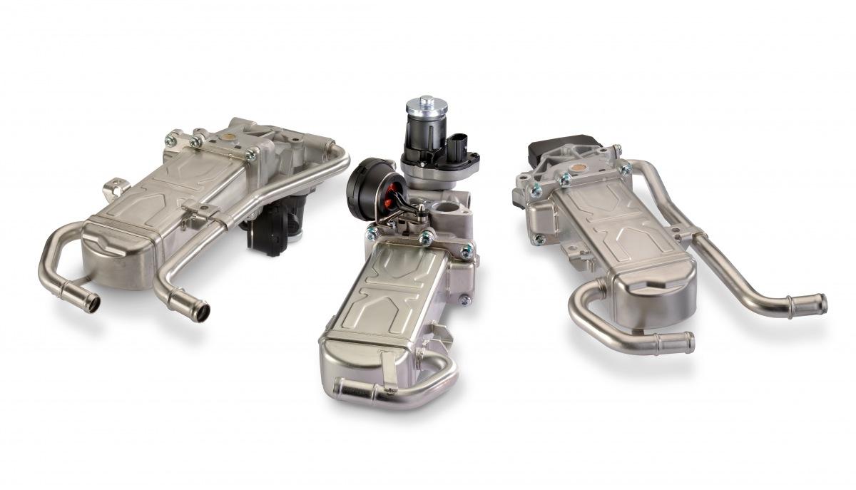 Tri nové moduly chladiča recirkulácie výfukových plynov (EGR) v Motorservice