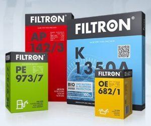 Nové filtre značky Filtron za mesiac júl 2019