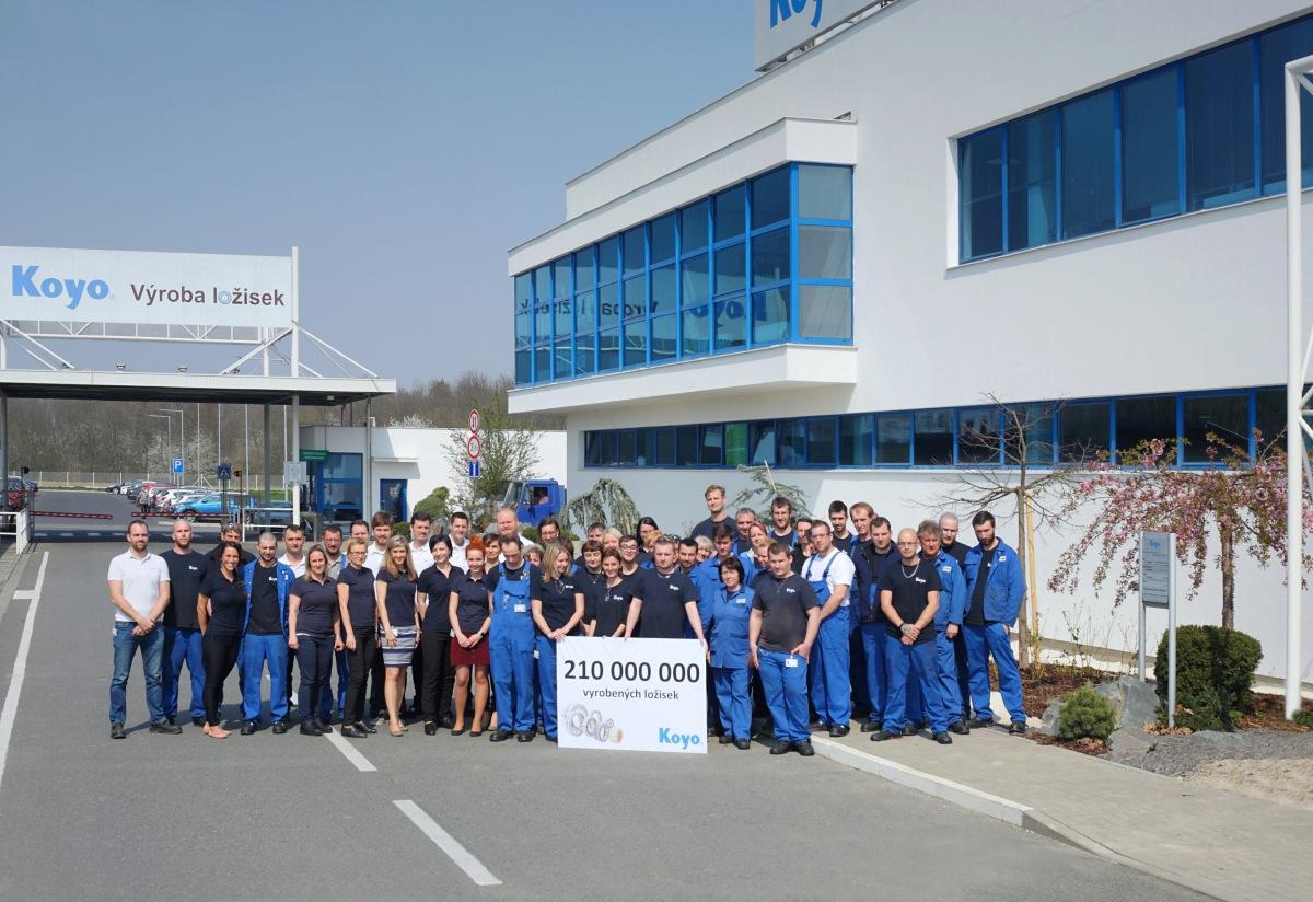 Koyo Bearings vyrobilo 210 miliónov ložísk