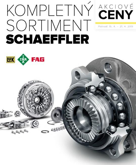 Akciové ceny na kompletný sortiment Schaeffler v Auto Kelly