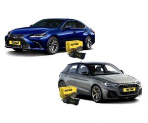 Brzdové doštičky pre Audi A1 a Lexus ES značky Textar