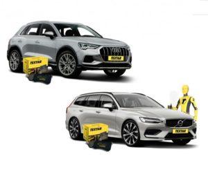 Novinky v sortimentu Textar – brzdové doštičky pre Audi Q3 a Volvo V60