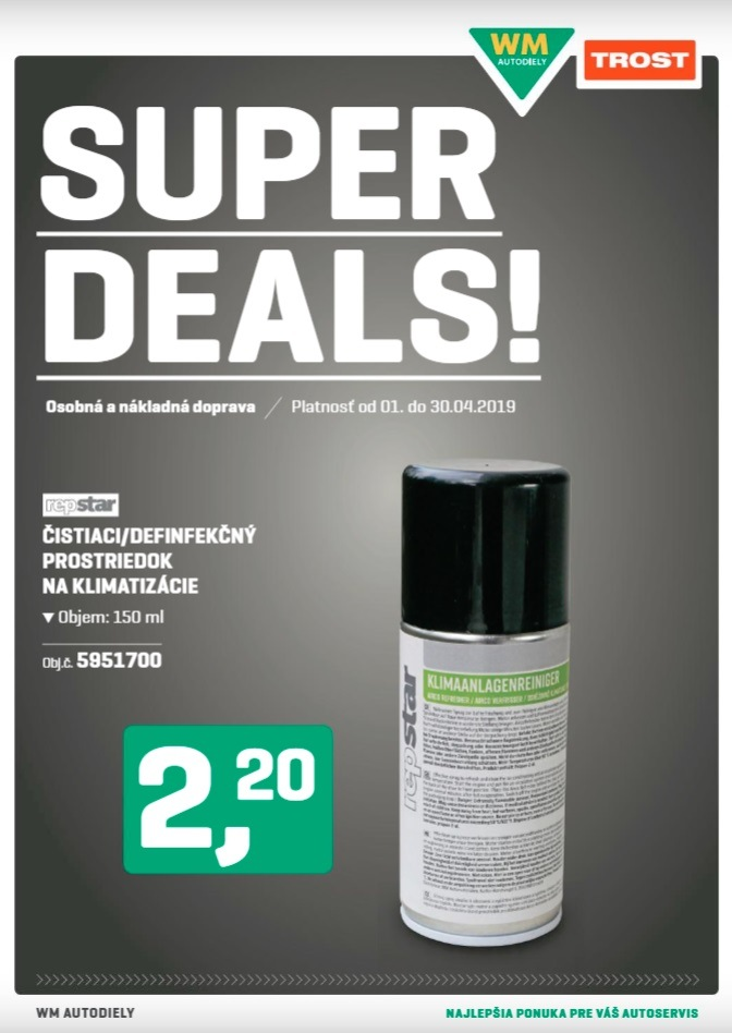 Super Deals 4/2019 od firmy Trost