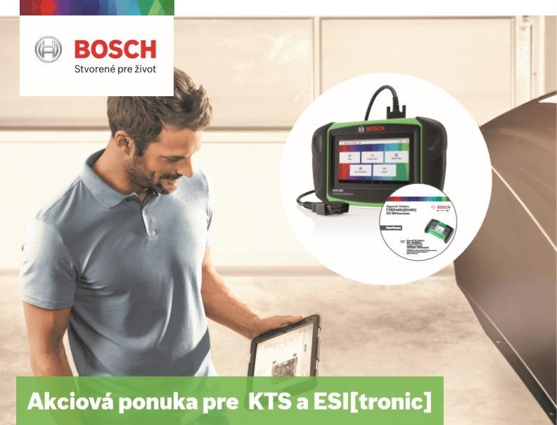 Akciová ponuka pre KTS a ESI tronic Bosch