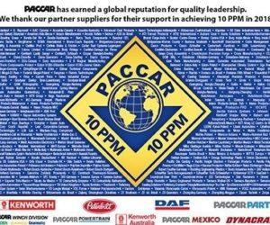 Spoločnosť Dayco získala certifikát kvality od firmy Paccar