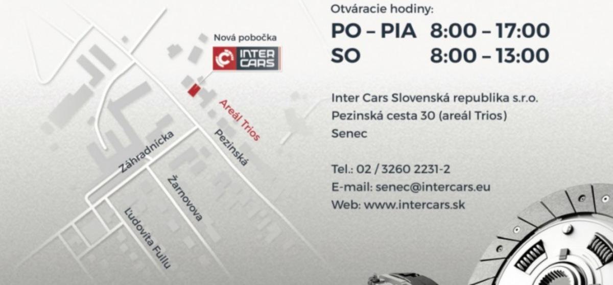Pobočka Inter Cars Senec