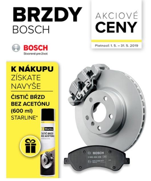Akciové ceny na brzdy Bosch v Auto Kelly