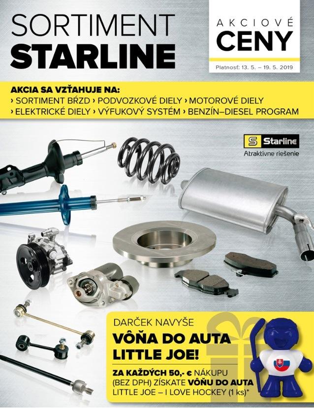 Akcie na sortiment Starline v Auto Kelly