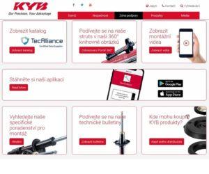 Neustála technická podpora od KYB