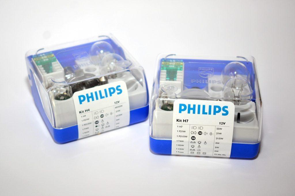 Sady žiarovek Philips