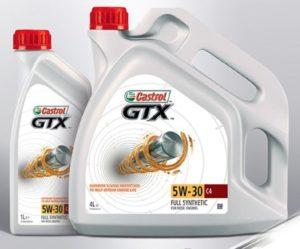 Castrol GTX 5W-30 C4 nove v ponuke Inter Cars