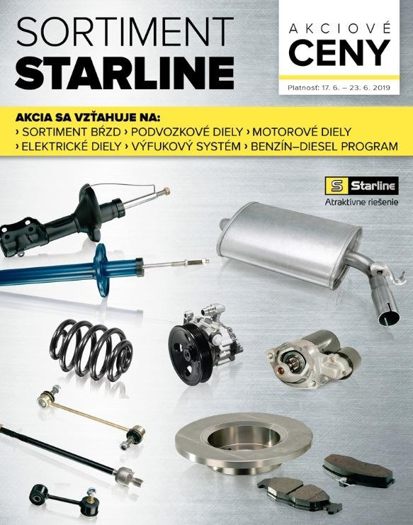 Zľavy na kompletný sortiment Starline, rozvody a remene, brdzové náradie rôznych značiek v Auto Kelly