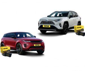 Nové brzdové doštičky Textar pre Land Rover Range Evoque a Toyota TAV 4