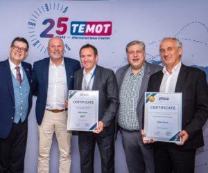 Dve ocenenia pre Valeo od Temot International