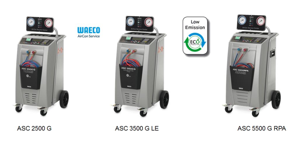 Klimatizační stanice WAECO LowEmmision