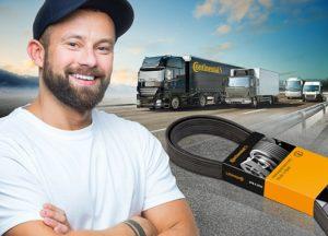 Rozšírenie programu remeňov Continental pre úžitkové vozidlá
