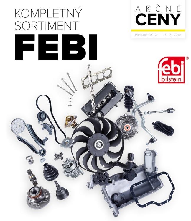 Akcie na kompletný sortiment Febi v Auto Kelly