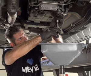 Krok za krokom k výmene oleja v automatických prevodovkách s Meyle-Original sadami