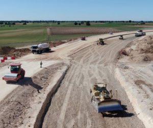 Nokian Tyres buduje vysokorýchlostnú oválnu trať uprostred španielskych polí