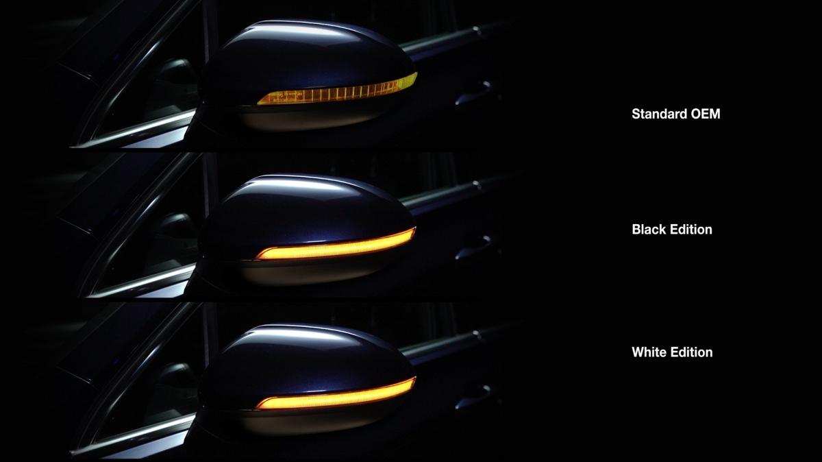 Osram LEDriving integrované do vonkajších spätných zrkadiel