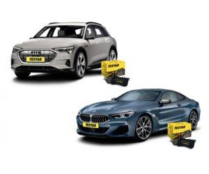 Firma Textar novo ponúka brzdové doštičky pre BMW 8 a Audi E-tron