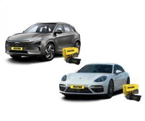 Brzdové doštičky Textar sú k dispozícii pre Porsche Panamera a Hyundai Nexo