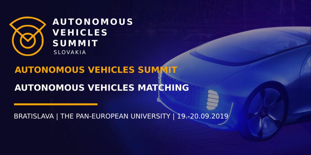 Autonomous Vehicles Summit 2019: