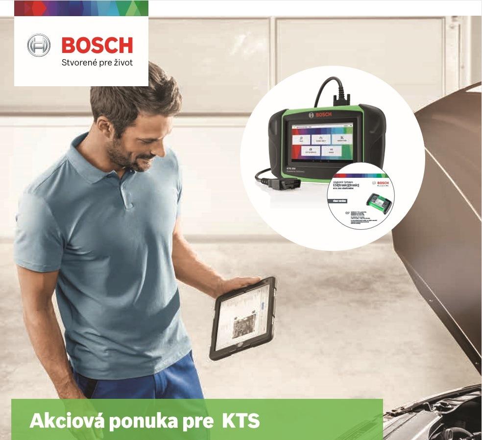 Akciová ponuka pre KTS v Bosch