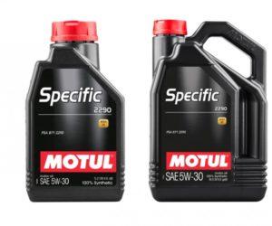 Oleje Motul Specific v sortimente Inter Cars