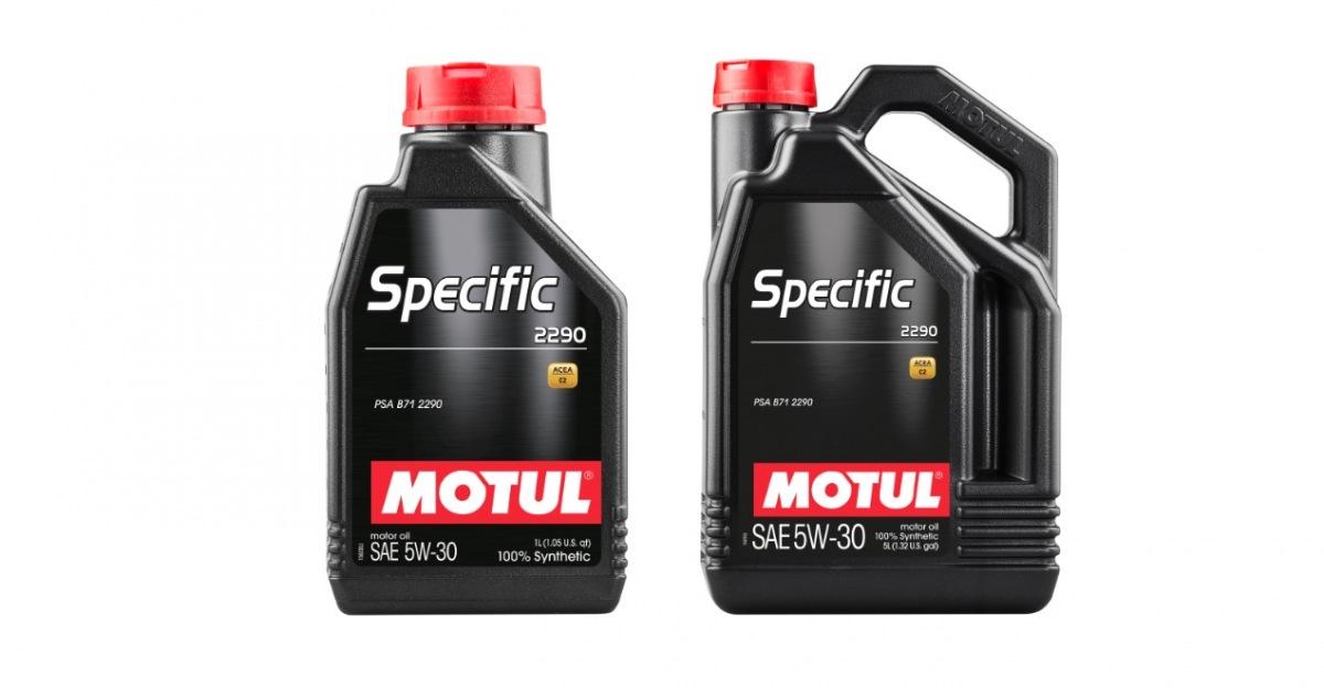 Oleje Motul Specific novo v sortimente Inter Cars