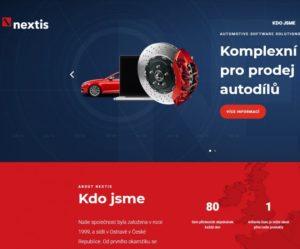 Firma Nextis aktualizovala svoje webové stránky