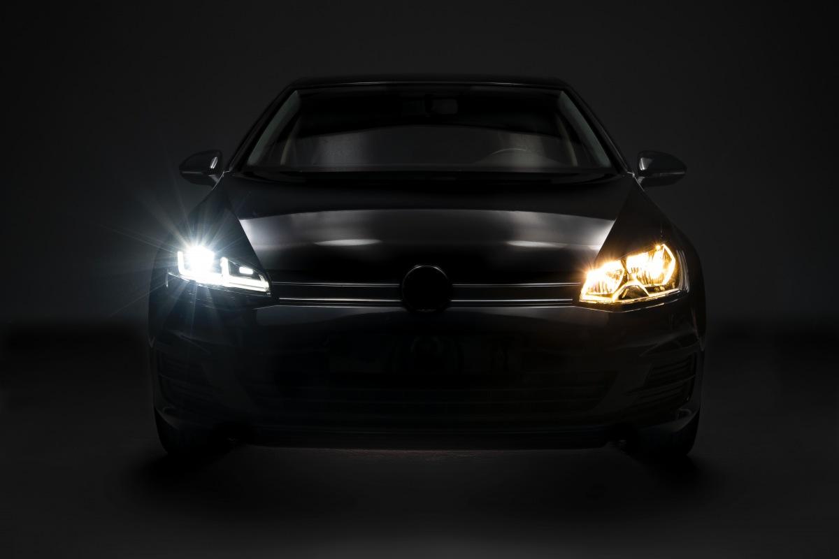 Nové LED svetlomety od Osram pre vozidlá VW Golf VII