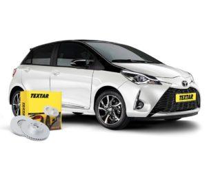 Brzdové kotúče Textar pre nový Toyota Yaris